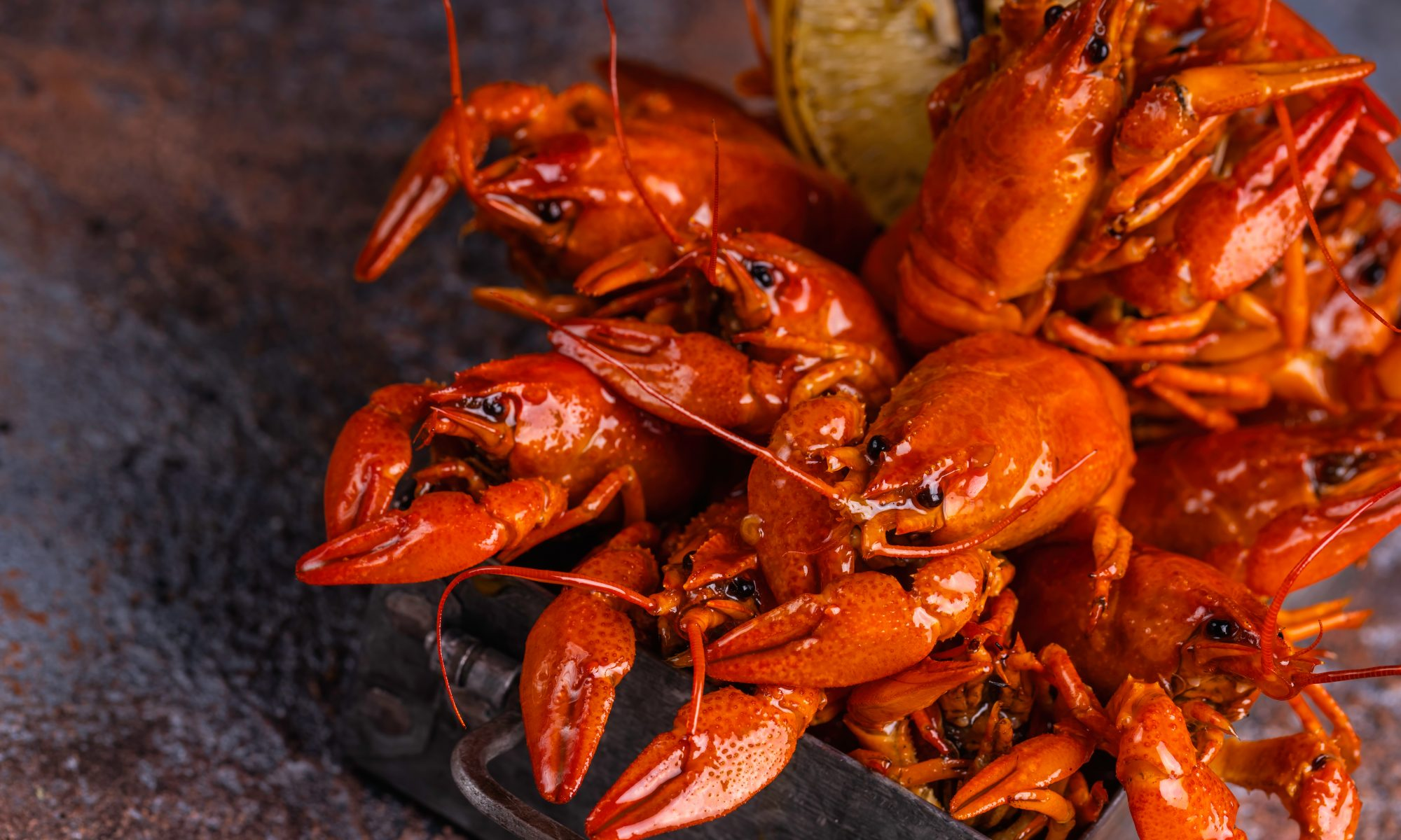 Angry Crab Shack teaches you how to eat their crawfish meal